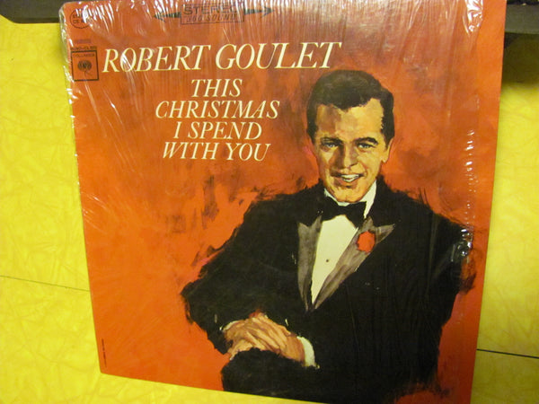 "LP - Robert Goulet ""This Christmas I Spend With You"" LP"