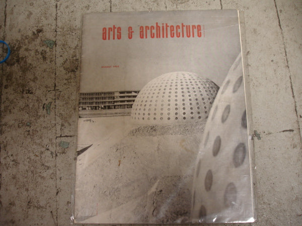 Book: Arts & Architecture, August 1952, Original
