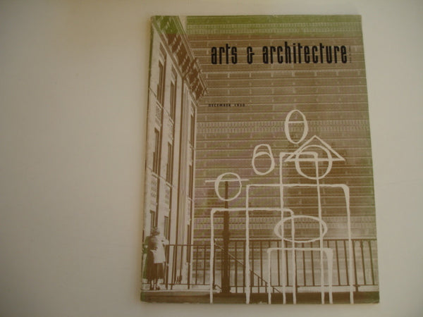 Book: arts & architecture Dec 1950, Original