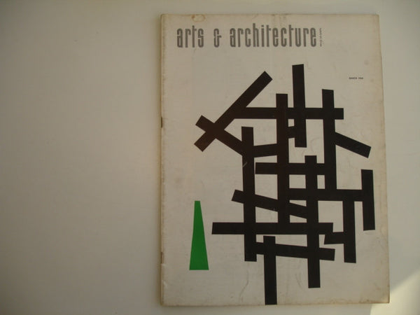 Book: arts & architecture, March 1954