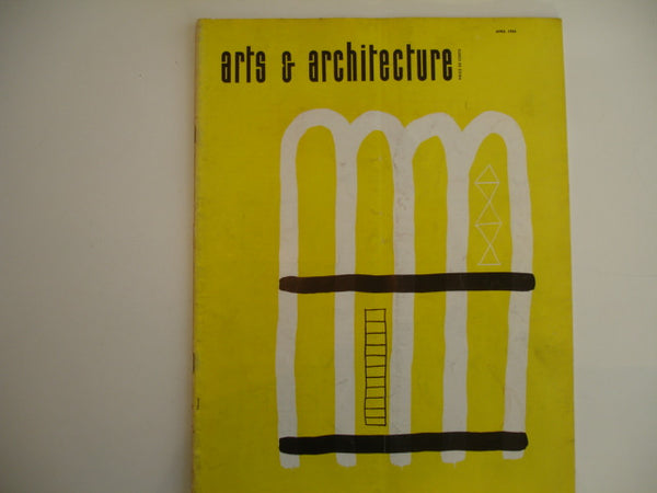 Book: arts & architecture, April 1954, Original issue
