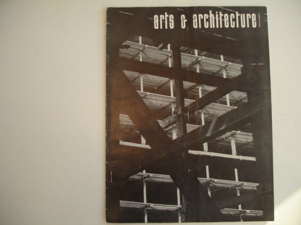 Book: arts & architecture july 1954
