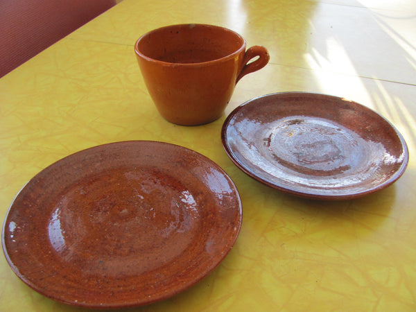 Ceramics: Three pieces of Jugtown Pottery