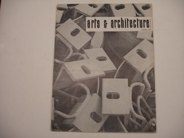 Book: Arts & Architecture, Sept. 1964