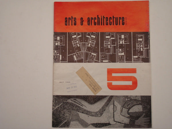 Book: Arts & Architecture, May 1952. Original issue.