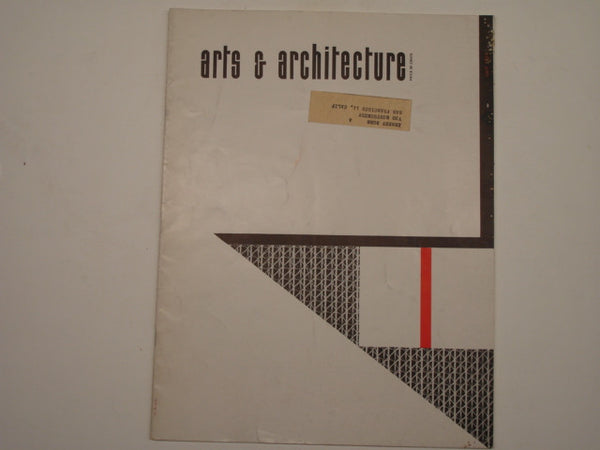 Book: Arts & Architecture, July 1952
