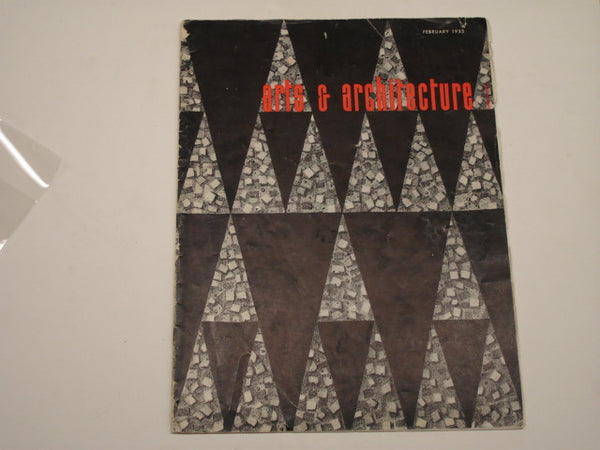 Book: Arts & Architecture, February 1953. Original issue.