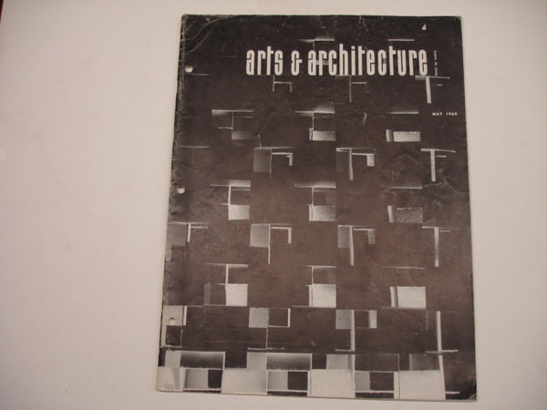 Book: Arts & Architecture, May 1960. Original issue.
