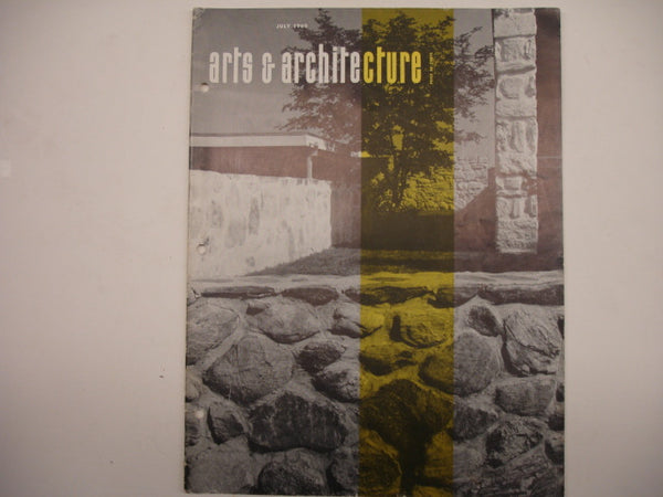 Book: Arts & Architecture, July 1960