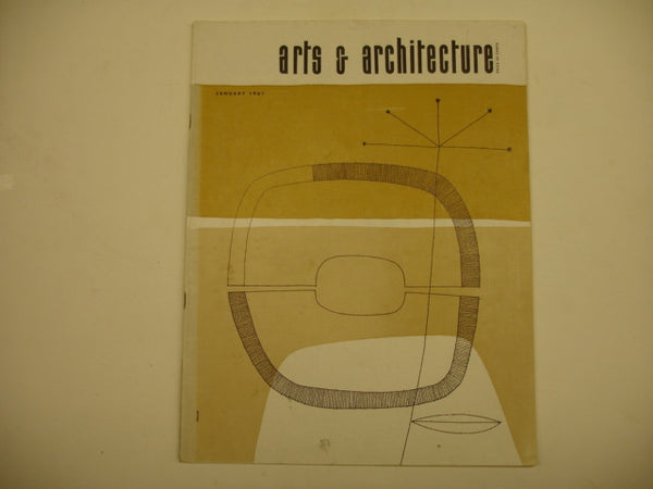 Book: Arts & Architecture, Jan. 1961, Original Issue