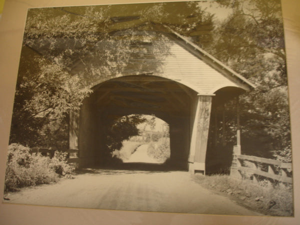 Robert D. Wild, Vermont Covered Bridge
