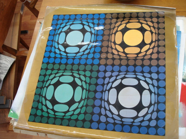 Print: Victor Vasarely Print