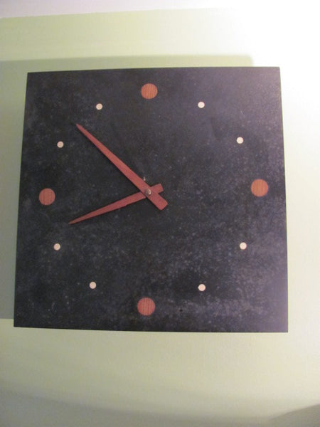Clock: 3 Million Year Old Slate Clock