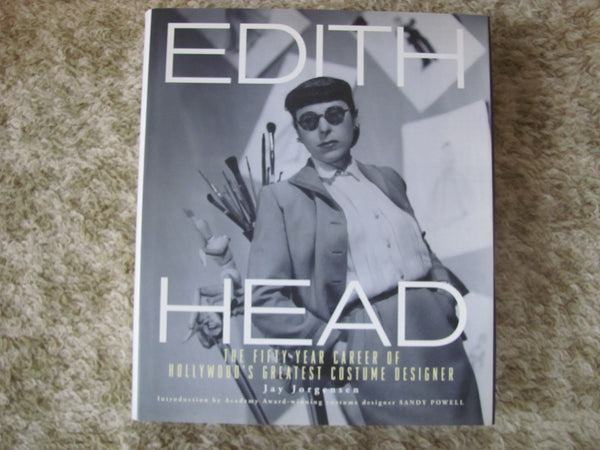 Book: Edith Head by Jay Jorgensen. 1st Edition.