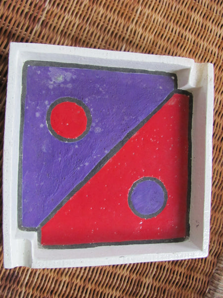 Ceramics: Italian Mid Century Ashtray by Rosenthal Netter / Raymor