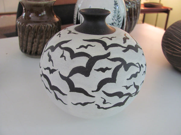 "Ceramics: F. Carlton Ball ""Bird"" Vase."