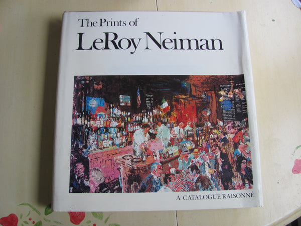 THE PRINTS OF LEROY NEIMAN BY Knoedler Publishing Co. 1980. 1st edition