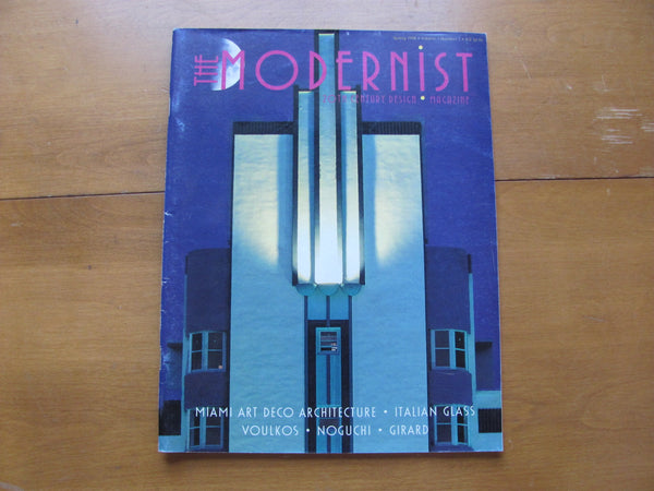 MAG: MODERNIST Magazine Vol. 1, No. 1, Spring 1998. David Rago, MODERNISM