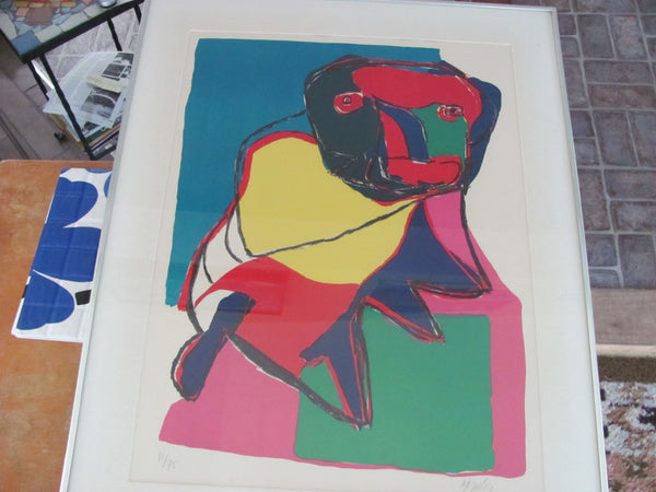 SOLD   - Karl Appel Print