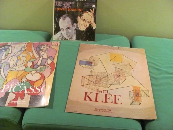 PRINT: Paul Klee 1999 Calendar. Free shipping in the USA.
