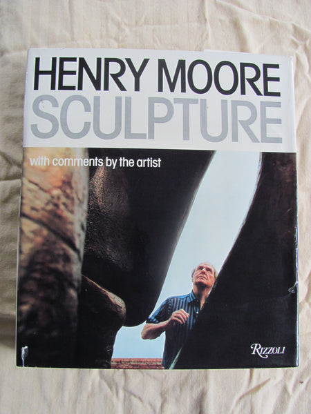 Book: Henry Moore SCULPTURE with comments by the artist First Edition