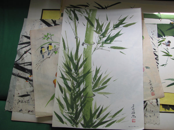 Art: Bamboo Watercolor by Eunice Harris