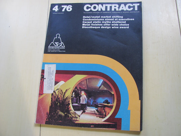 MAG: Contract Magazine 1976 Five Issue Lot