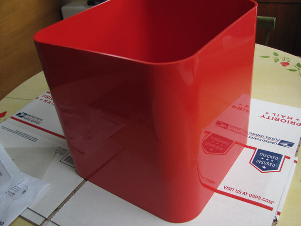 Furnishings : Rare Kartell Square Waste Trash Can  -  SOLD