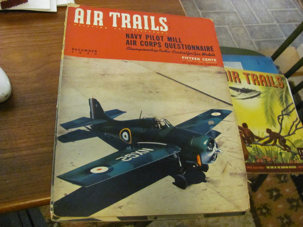 MAG: December 1940 AIR TRAILS Magazine - Aviation