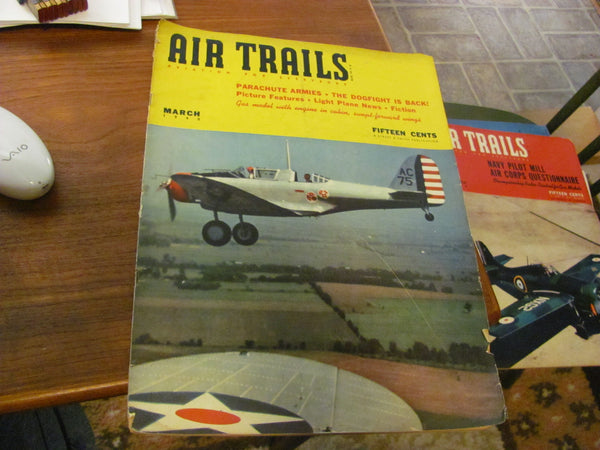 Mag: March 1940 AIR TRAILS  - Aviation