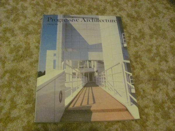 MAG: Lot of Three issues Progressive Architecture