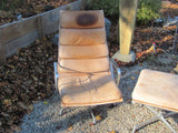 Chair: Eames Soft Pad Lounge Chair and Ottoman Herman Miller   - SOLD