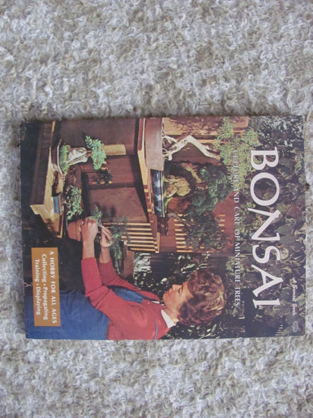 Book: BONSAI, Culture and Care of Miniature Trees, Sunset Books. Free Shipping