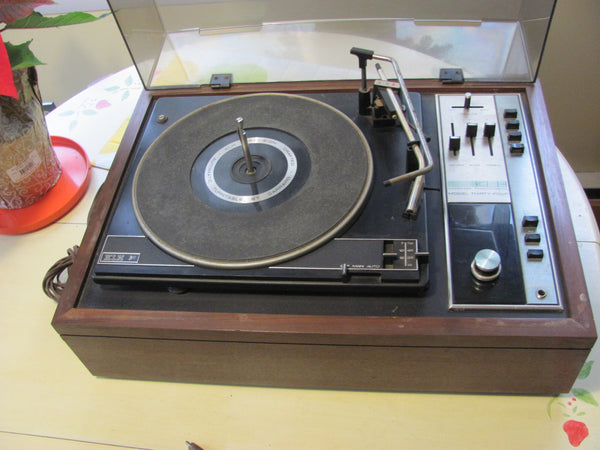 Stereo; KLH Model 34 Phonograph Garrard Turntable