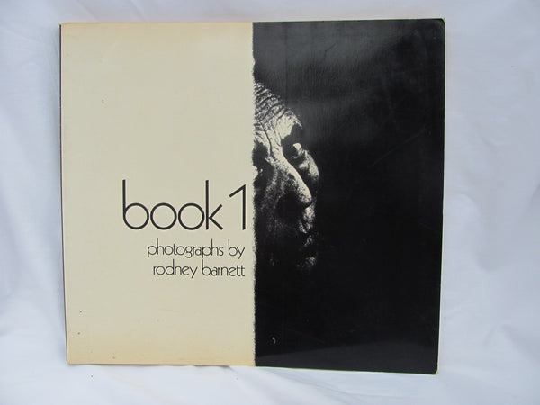 "Books: photographs by Rodney Barnett ""book1"" 1st ed. 1st print"