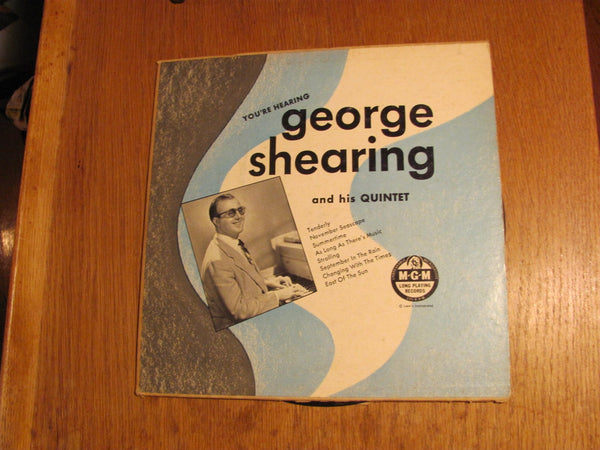 You''re Hearing George Shearing 33 Lp
