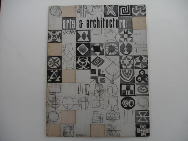Book: Arts & Architecture, June 1951. Original issue.