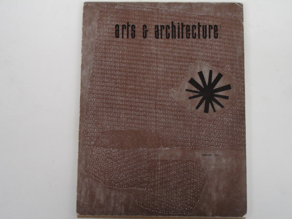 Book: Arts & Architecture, Feb 1963. Original