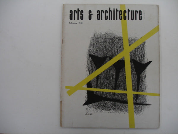 MAGAZINE: Arts & Architecture, Feb. 1948