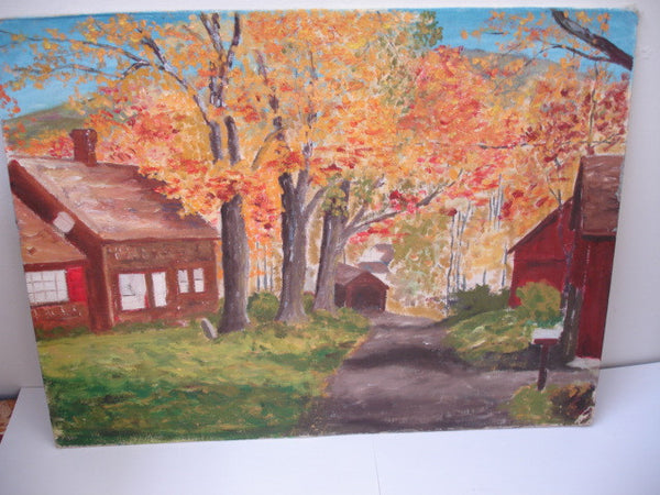 ART: o/b Bucks County Landscape
