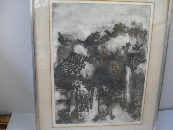 Print: Litho - Abstract Landscape
