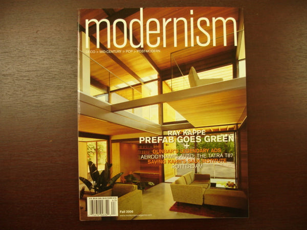 Mag: Modernism Fall 2006 vol.9 no.3