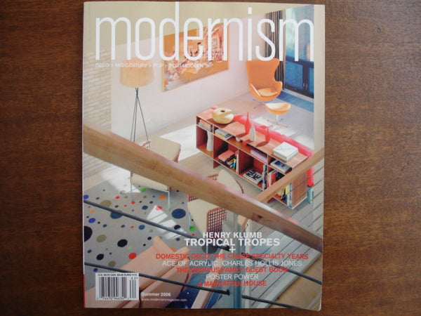 Modernism Magazine Summer 2006 vol9 #2