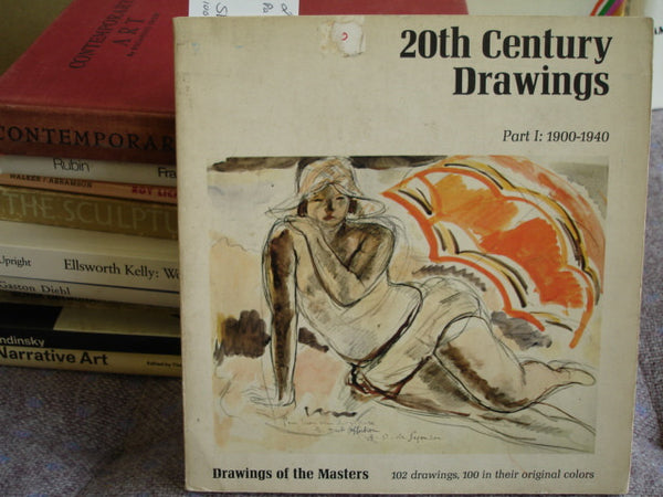 BOOK: 20th Century Drawing Part 1. Free Shipping in the USA.