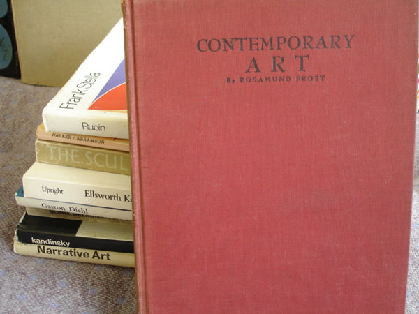 BOOK: Contemporary Art by Rosamund Frost, Free shipping in USA