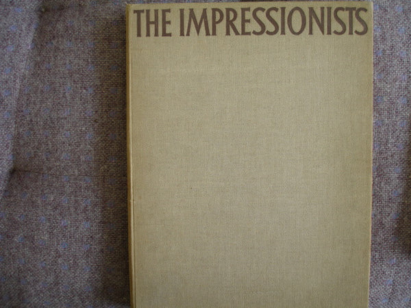 Book: The Impressionists by Wilhelm Uhde