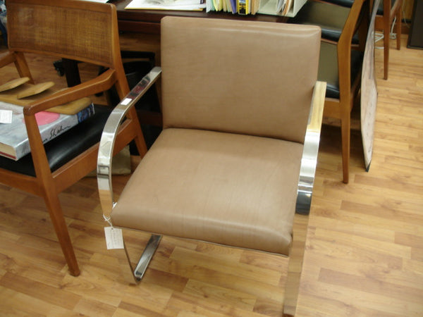 SOLD  - Knoll Brno Flatbar Leather