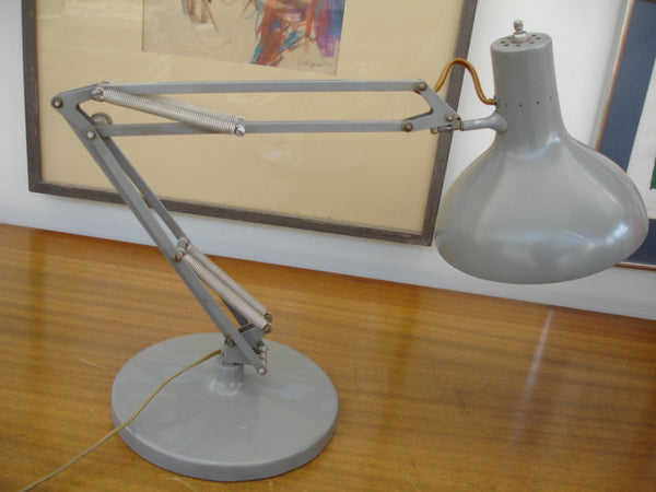 Lighting: LUXO Adjustable Desk / Table Lamp  -  SOLD