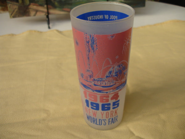 1964 Worlds Fair High Ball Glass