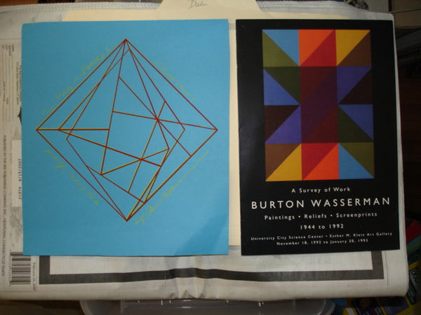 Art: Burton Wasserman Proof Signed